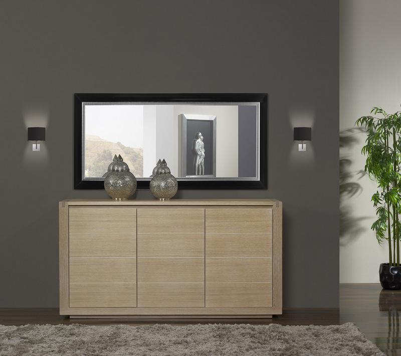buffet bois contemporain maison design. Black Bedroom Furniture Sets. Home Design Ideas