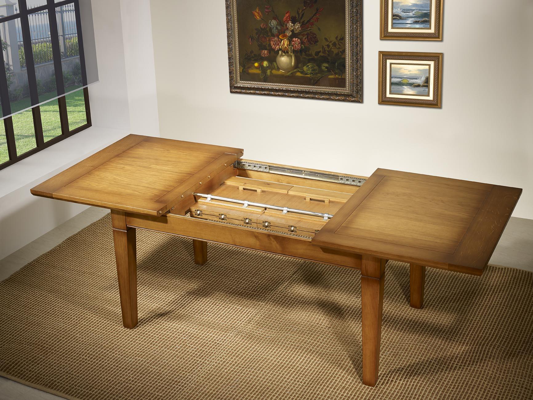 table rectangulaire 160 100 en ch ne de style louis philippe meuble en ch ne. Black Bedroom Furniture Sets. Home Design Ideas