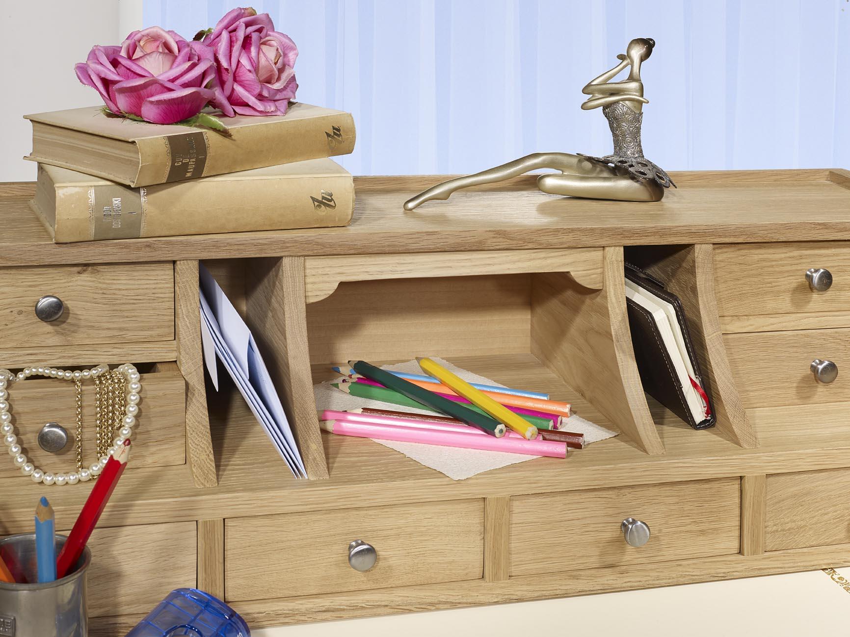 bonheur du jour louis en ch ne de style directoire finition ch ne bross naturel meuble en ch ne. Black Bedroom Furniture Sets. Home Design Ideas