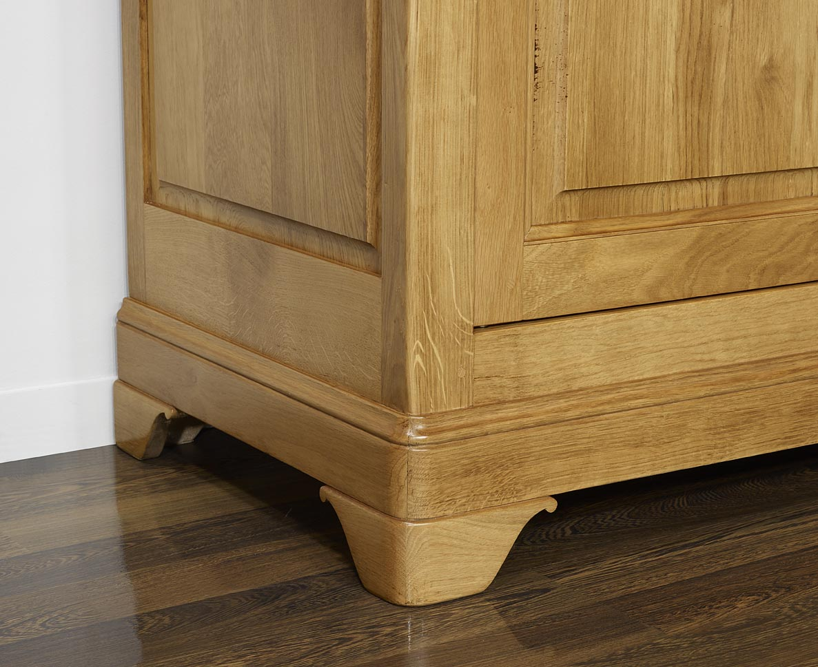 Style louis philippe armoire - Armoire chene massif 2 portes ...