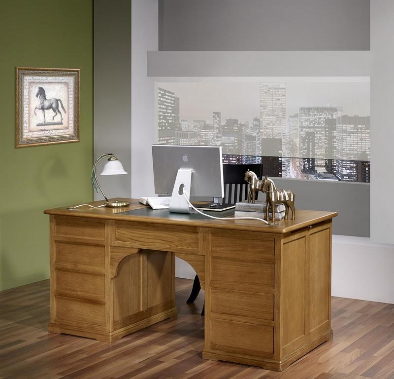 bureau ministre sp cial dossiers suspendus en ch ne massif de style louis philippe meuble en ch ne. Black Bedroom Furniture Sets. Home Design Ideas