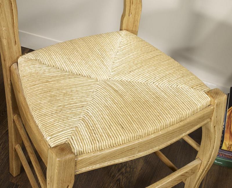 dessus de chaise paille hoze home. Black Bedroom Furniture Sets. Home Design Ideas