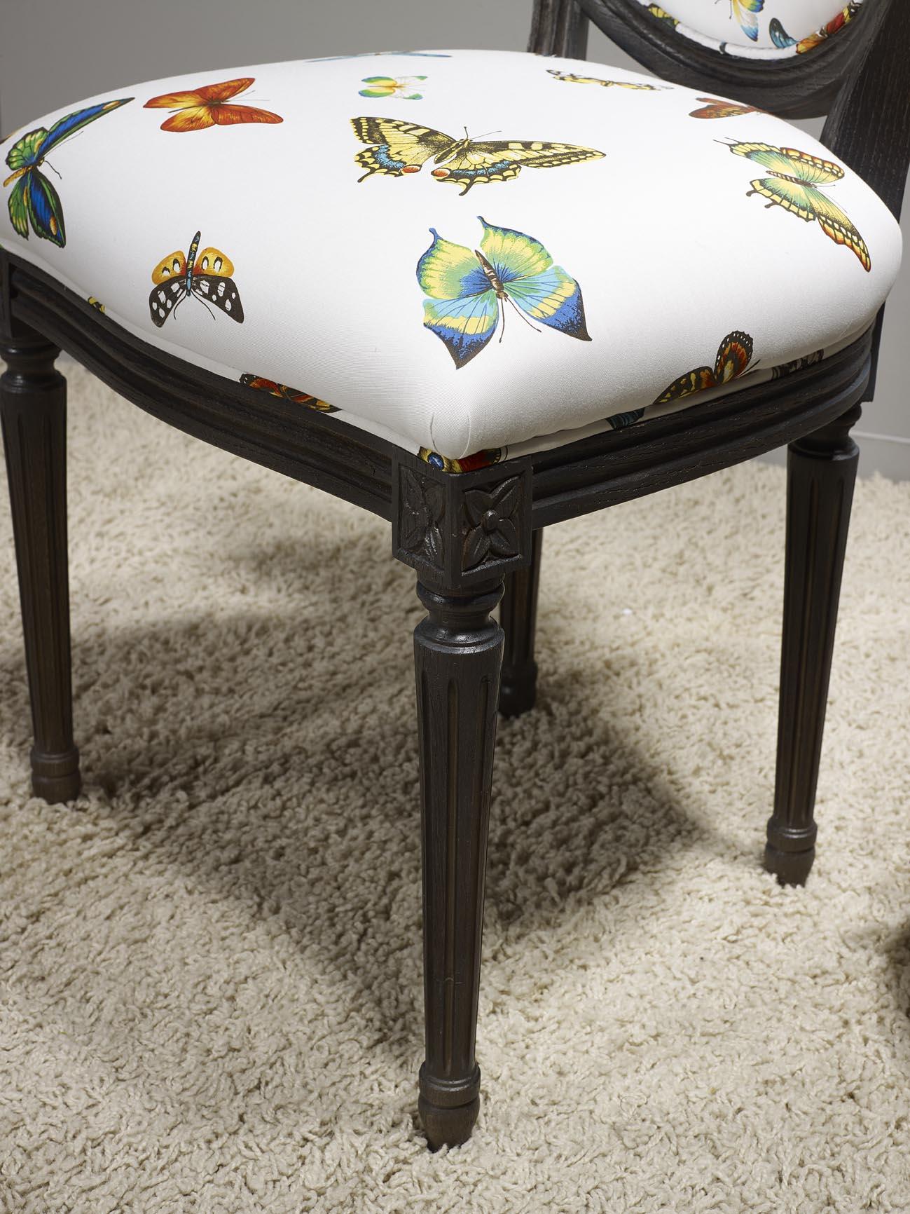 #A06A2B Chaise En Chêne Massif De Style Louis XVI Finition Chêne  4247 chaise de salle a manger en chene massif recouvert de tissu 1299x1732 px @ aertt.com