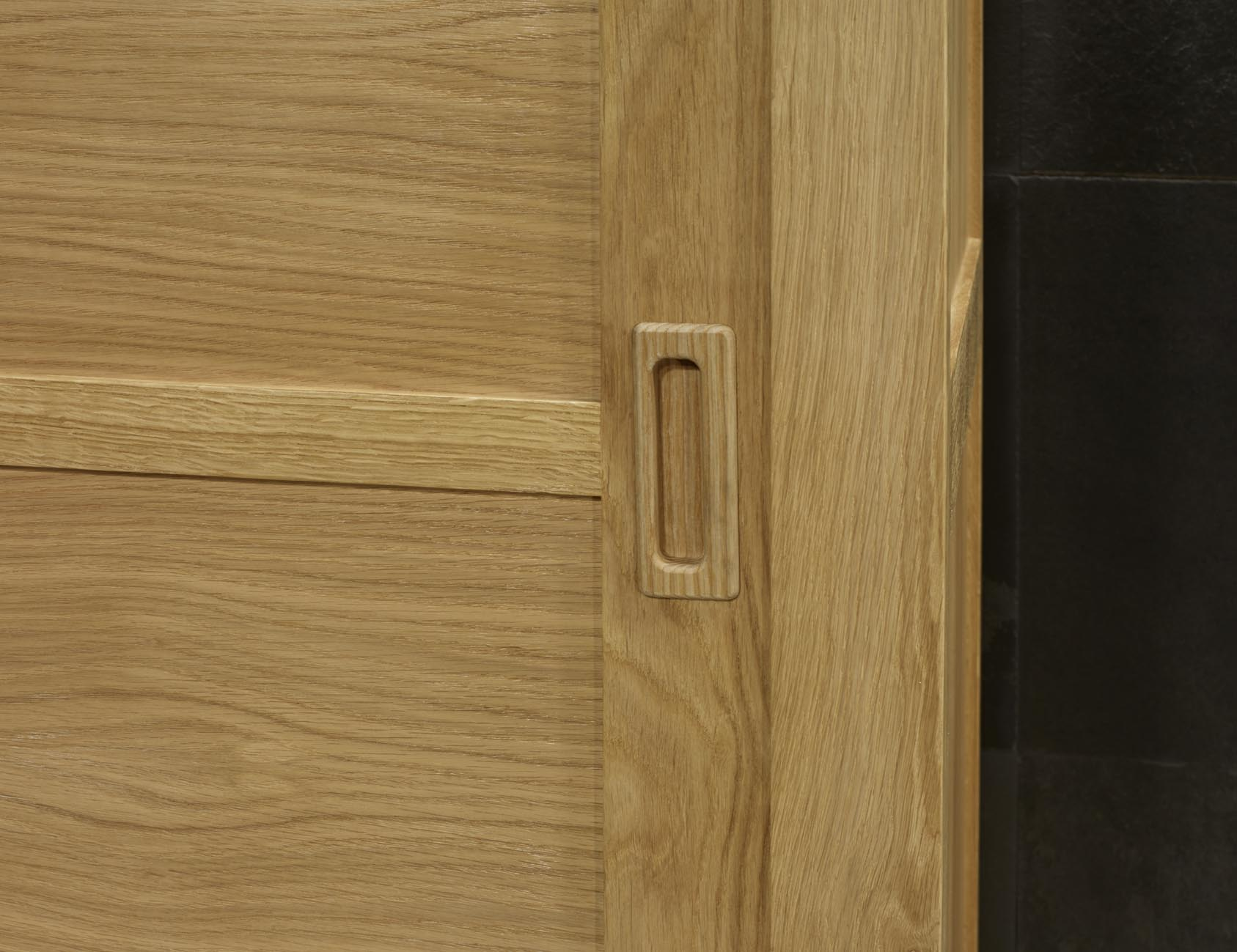 armoire 2 portes coulissantes n en ch ne de ligne. Black Bedroom Furniture Sets. Home Design Ideas