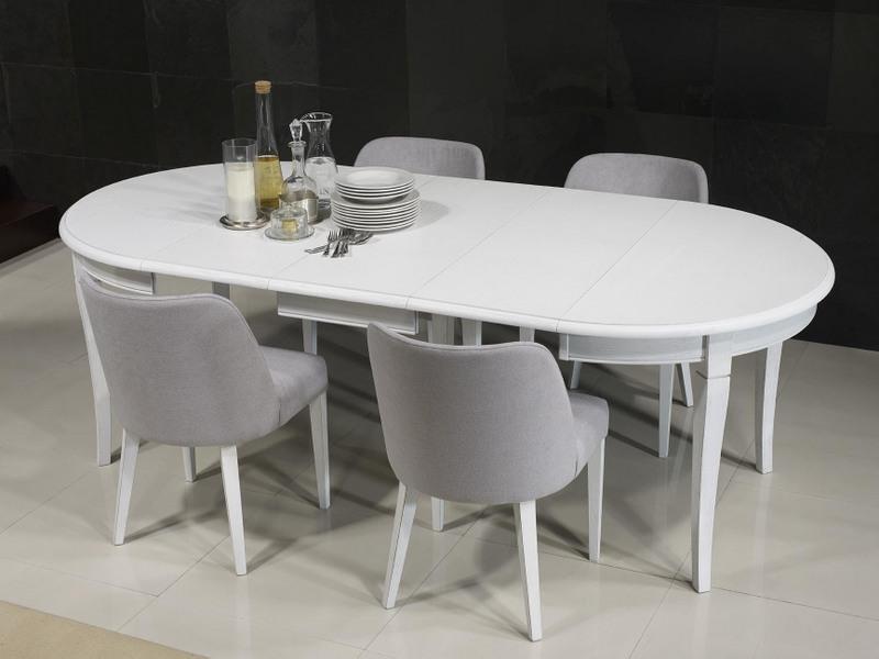 table ronde en ch ne massif de style louis philippe diametre 110 meuble en ch ne. Black Bedroom Furniture Sets. Home Design Ideas