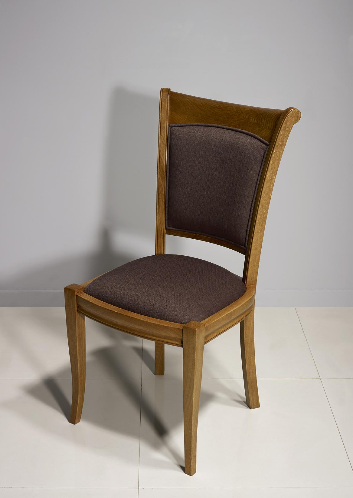 chaise benjamin en ch ne massif de style louis philippe meuble en ch ne. Black Bedroom Furniture Sets. Home Design Ideas
