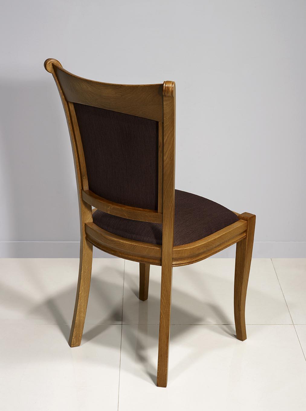 chaise benjamin en ch ne massif de style louis philippe. Black Bedroom Furniture Sets. Home Design Ideas