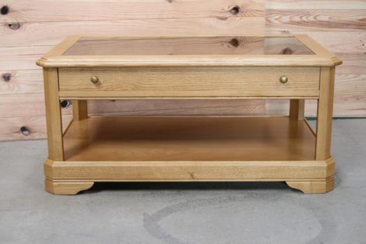 Table basse jade en ch ne de style louis philippe meuble en ch ne - Table basse louis philippe ...
