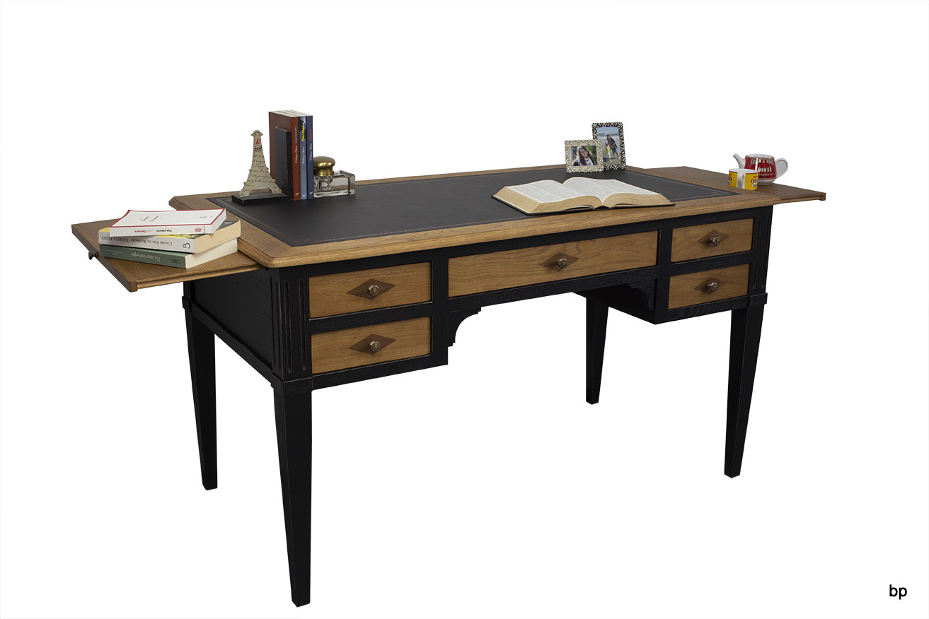 Richmond home office table bureau informatique d angle meuble en