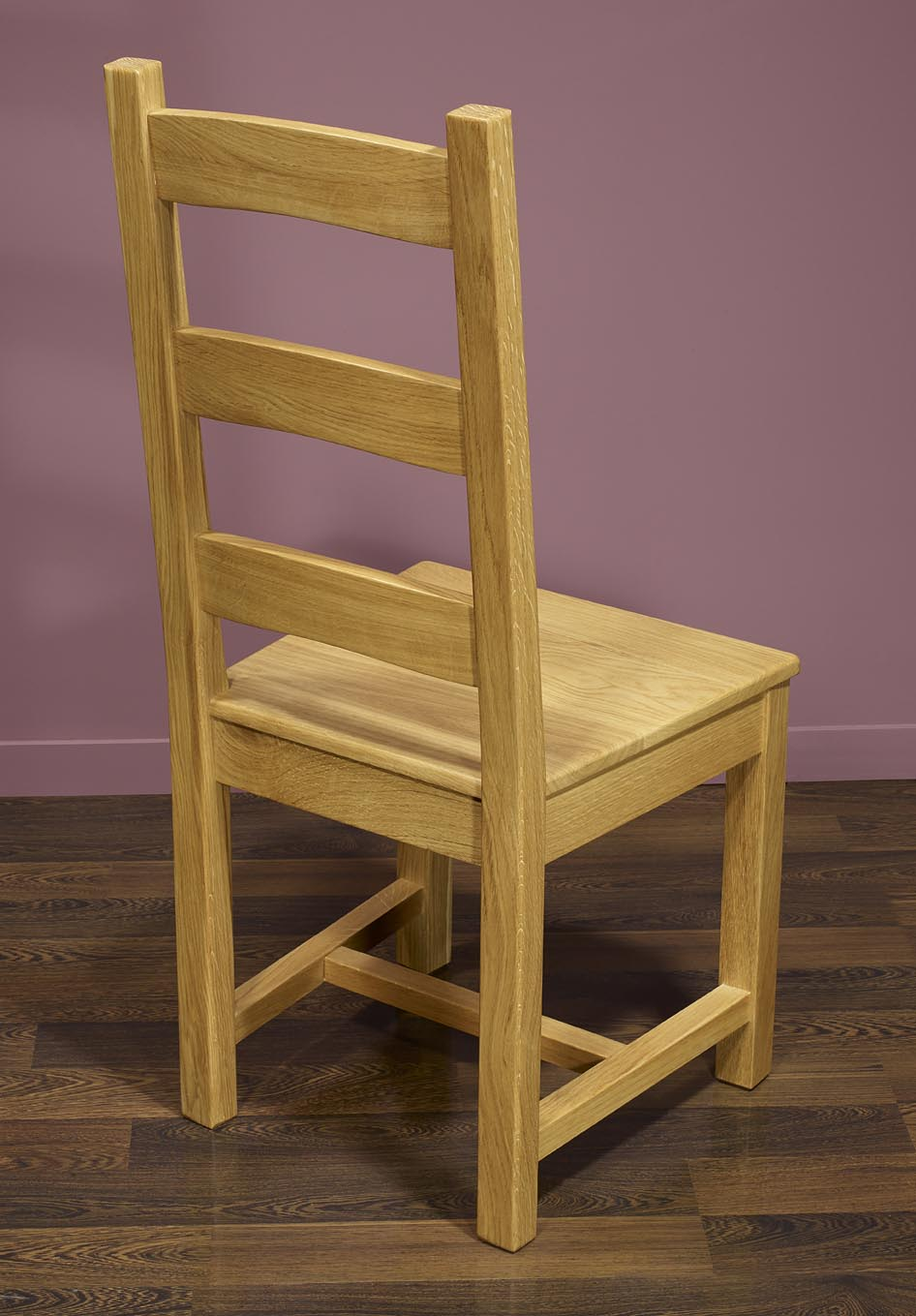 chaise en chne massif de style campagnard assise chene - Chaise En Chene