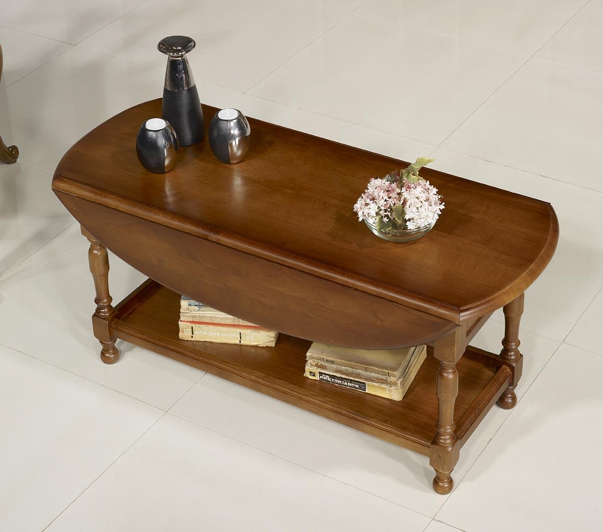 Table basse en ch ne massif de style louis philippe for Table basse en chene massif