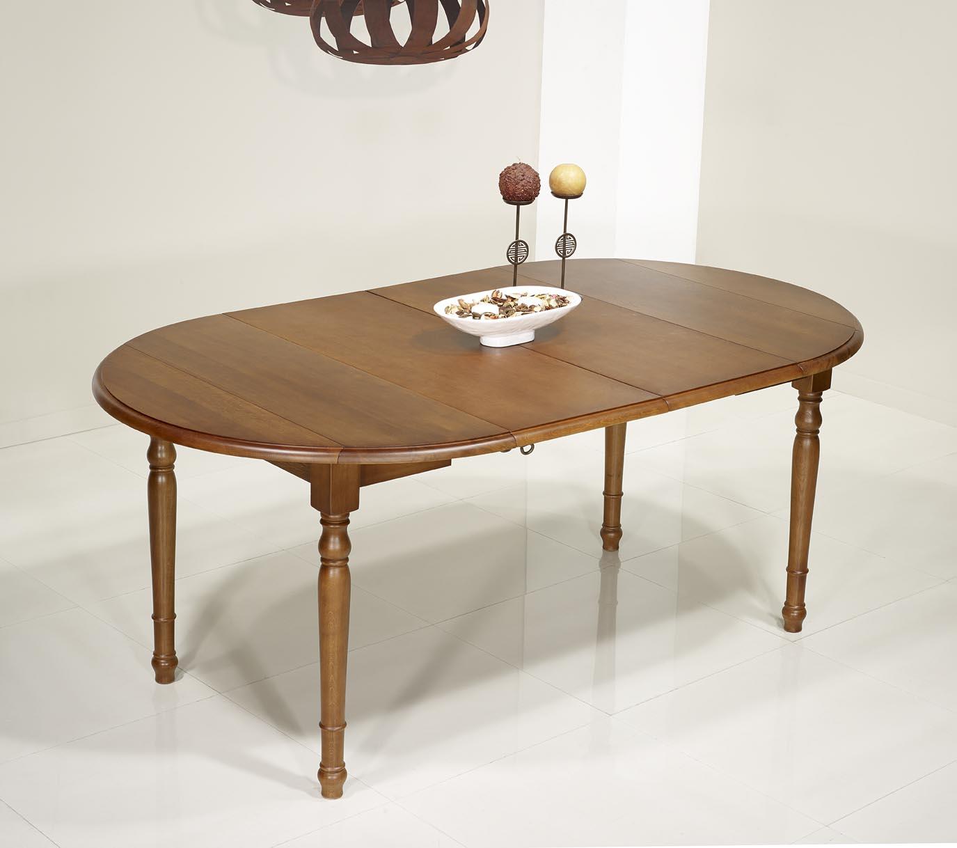 table ronde volets en ch ne massif de style louis philippe diametre 120 avec 2 allonges de 40. Black Bedroom Furniture Sets. Home Design Ideas