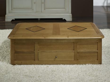 Superieur Excellent Table Basse Bar Hugo Ralise En Chne De Style Louis Philippe With  Table Bar De Salon