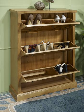 meuble chaussures ralis en chne de style louis philippe