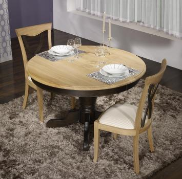 table ronde. Black Bedroom Furniture Sets. Home Design Ideas