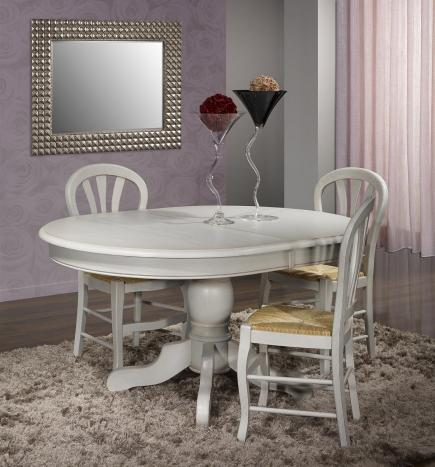 Meubles for Table ovale pied central